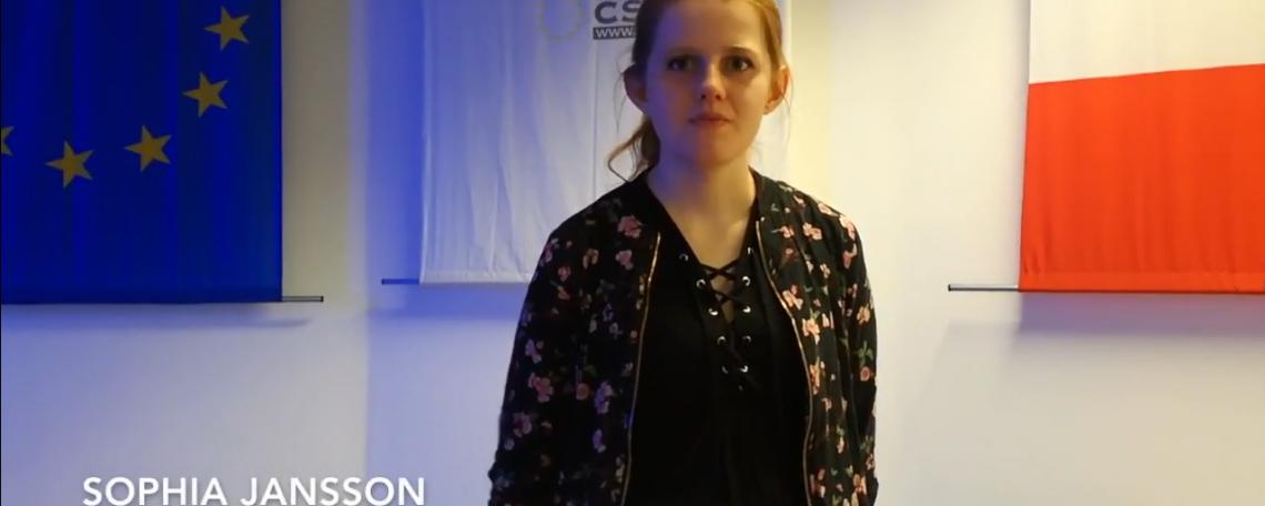 Sophia Jansson's Erasmus experience